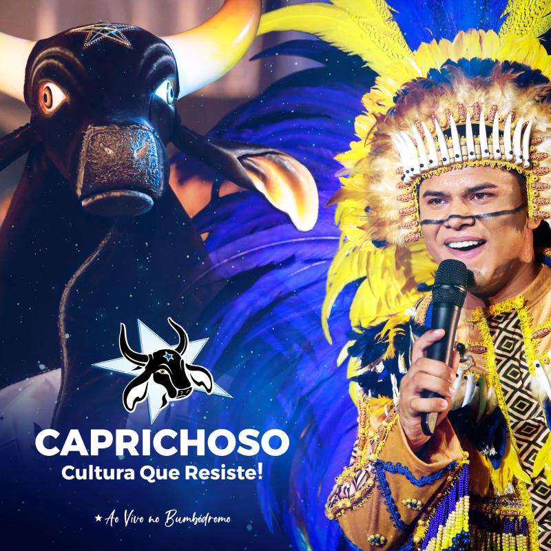 Boi Caprichoso lança primeiro álbum digital ao vivo no Bumbódromo na voz de Patrick Araújo