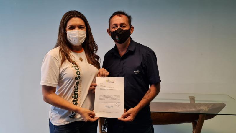 Vereador Babá Tupinambá busca apoio da SEAS para atendimentos especializados aos autistas de Parintins