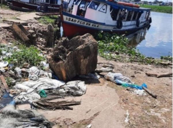 Vereador Babá Tupinambá atende pedido de comerciantes da Francesa e solicita limpeza da orla do bairro
