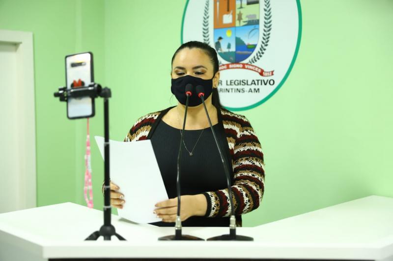 Vereadora Vanessa Gonçalves defende energia elétrica e educação para zona rural de Parintins