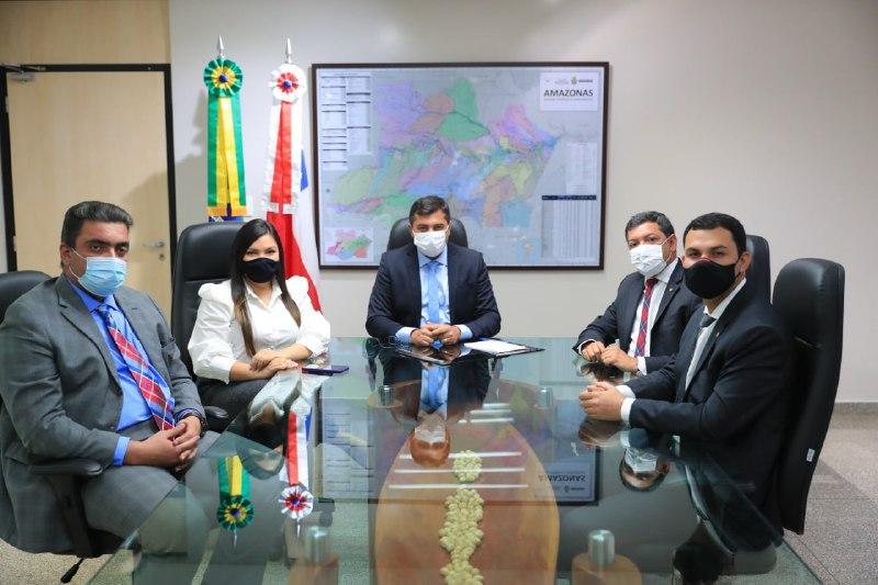 Wilson Lima anuncia deputado estadual Felipe Souza como novo líder do Governo da Aleam