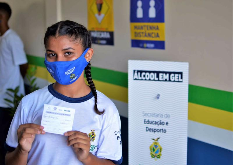 Governo do Amazonas retoma aulas 100% presenciais em 61 municípios do interior