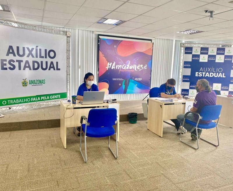 Amazonastur inicia segunda etapa de entrega do cartão do Auxílio Estadual a profissionais do turismo na segunda-feira (13/09)