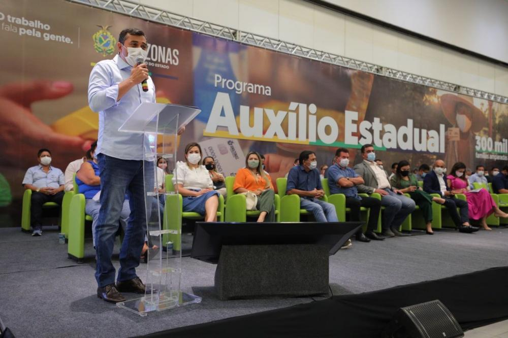 Governador Wilson Lima anuncia Auxílio Estadual permanente para 300 mil famílias em vulnerabilidade social
