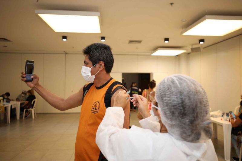 Vacina Amazonas: Governo do Estado realiza mutirão para dose de reforço e segunda dose da vacina contra a Covid-19