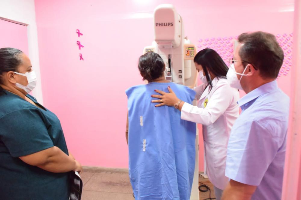 Mamografias voltam a ser realizadas no hospital Jofre Cohen, em Parintins