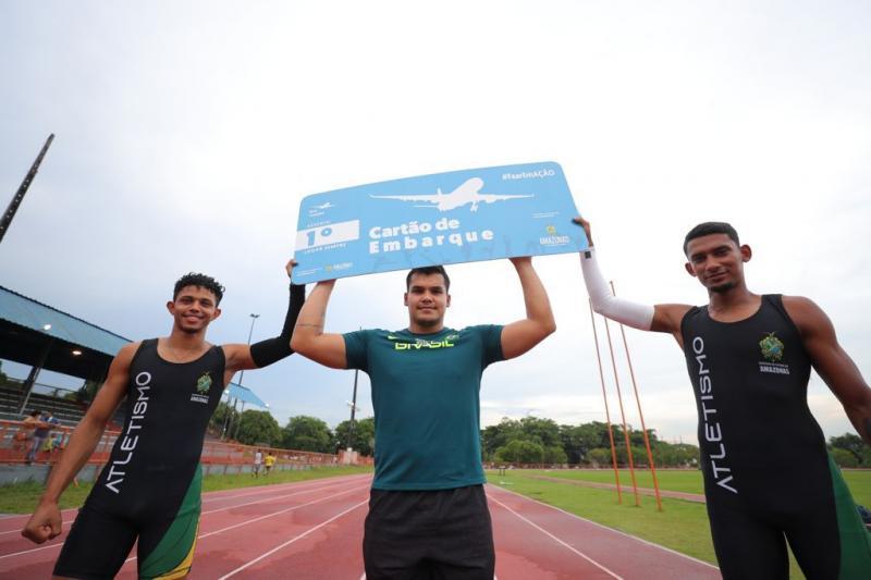 Com incentivo do Governo do Estado, amazonenses vão em busca do pódio no Norte Nordeste de Atletismo