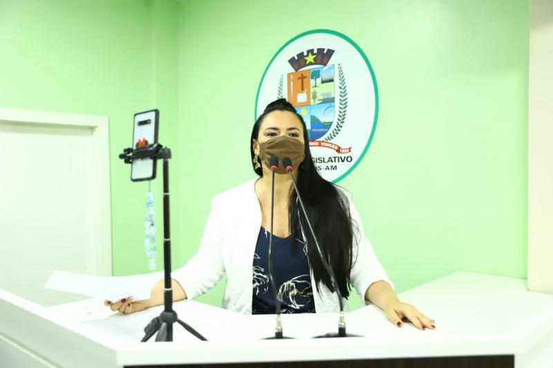 Vanessa Gonçalves apresenta demandas da Comunidade Varre Vento e do Ramal do Kidoco