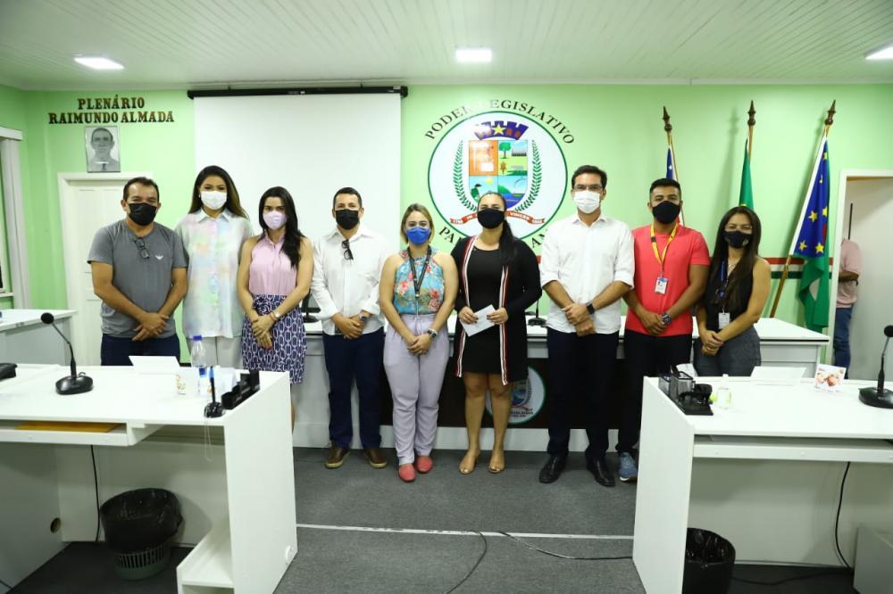 Vereadores de Parintins dialogam com Servidores do TCE-AM sobre projeto