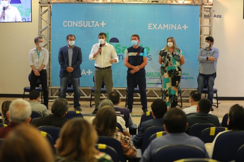 Governador Wilson Lima lança plano que amplia oferta de consultas e exames na rede estadual de saúde