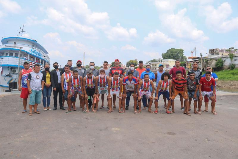 Copa dos Rios: Seleção de Barreirinha disputa vaga para terceira fase da competição em Urucurituba