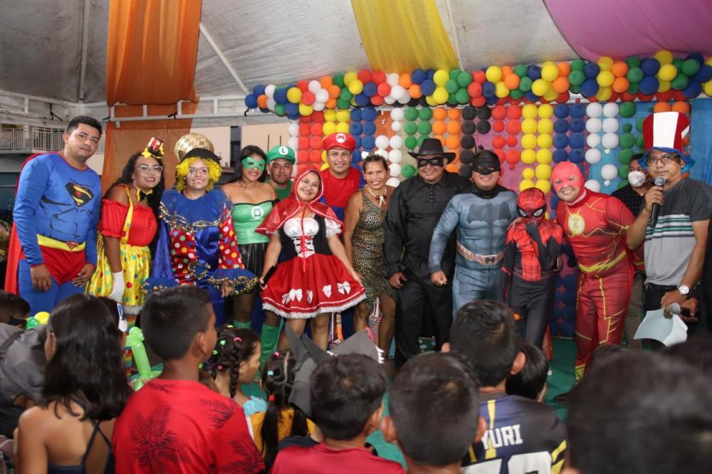 Prefeitura de Nhamundá realiza programação especial para comemorar Dia das Crianças