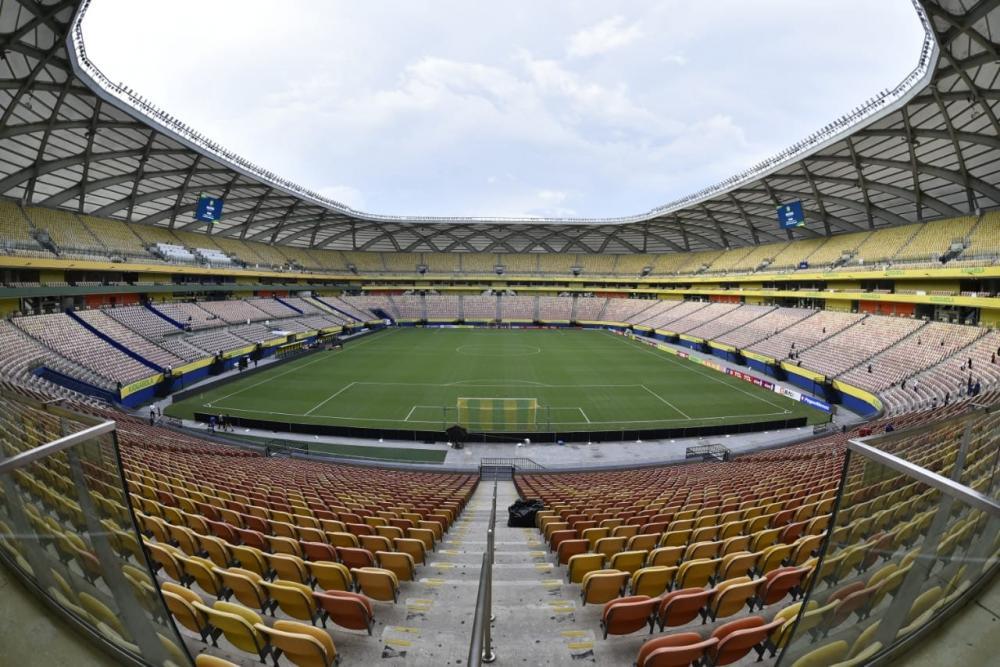 Arena da Amazônia abre os portões para Brasil x Uruguai às 17h30