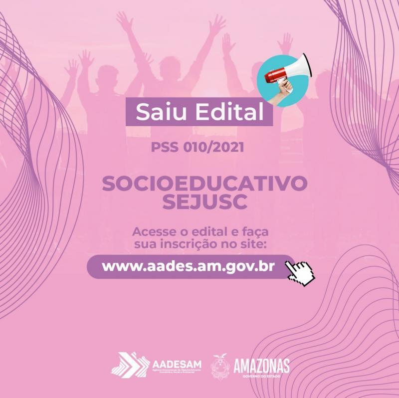 Governo do Amazonas lança Processo Seletivo para apoiar o Sistema Socioeducativo
